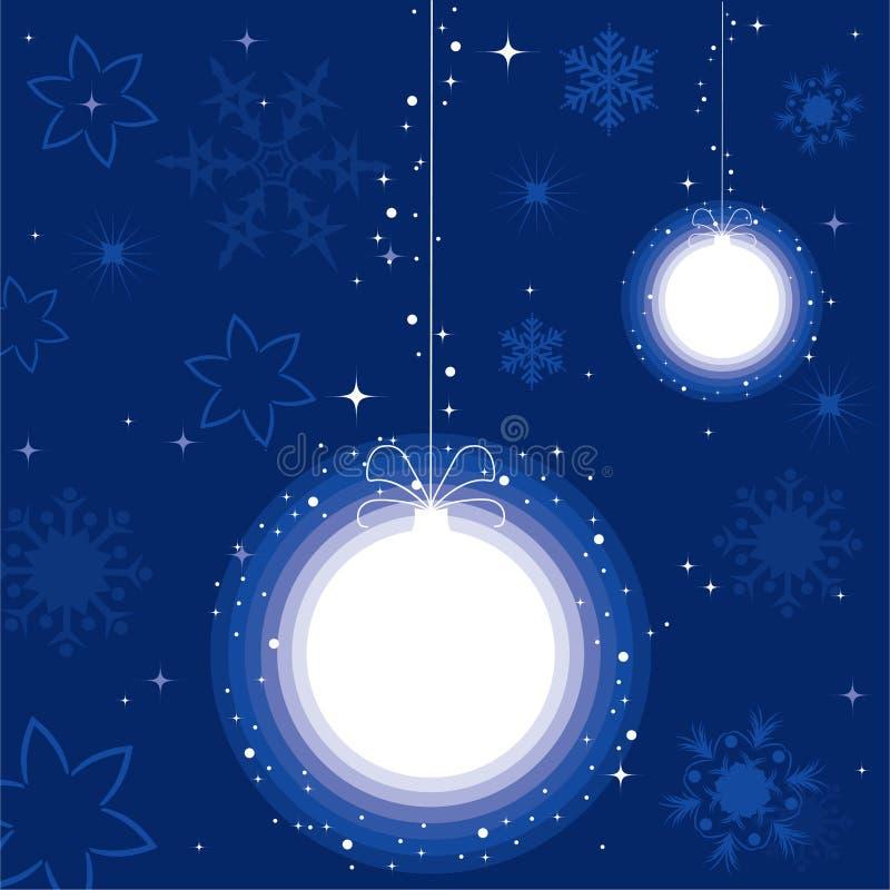 Kugel für Weihnachtsbaum vektor abbildung