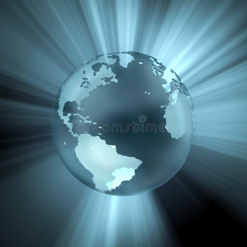Kugel (Licht und Reflexionen) lizenzfreie stockfotografie