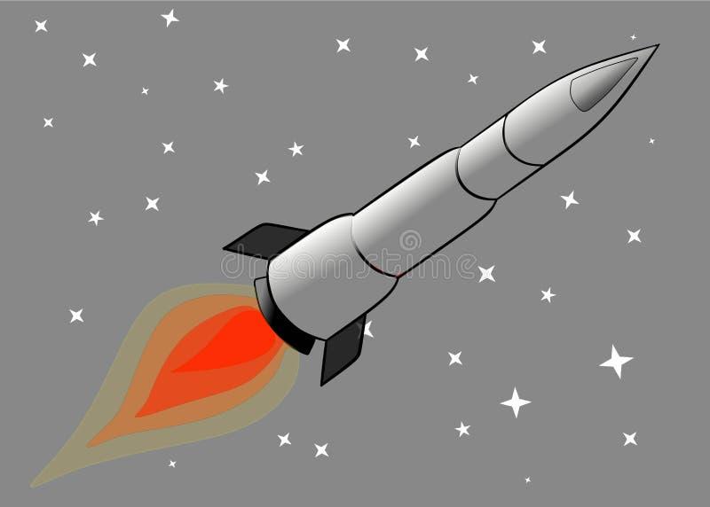 Kugel Rocket stockbild