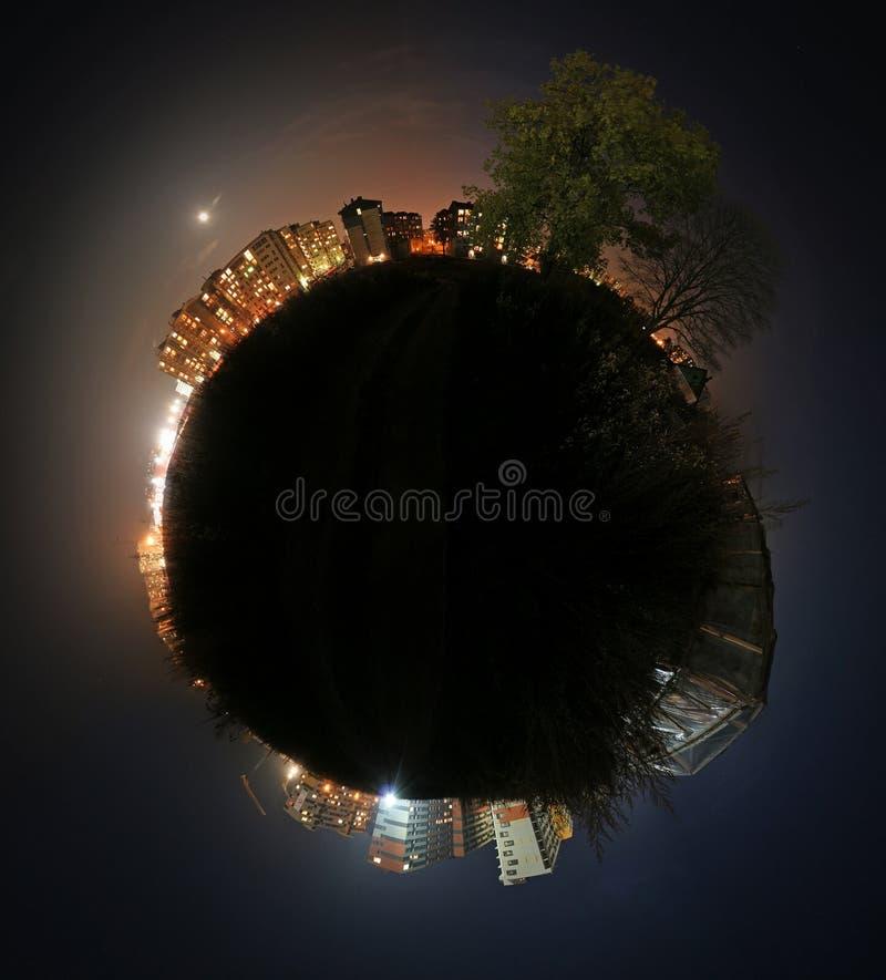 Kugelförmiges Panorama stockfoto
