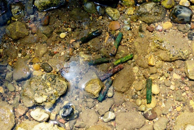 Kugeln im Wasser lizenzfreies stockfoto