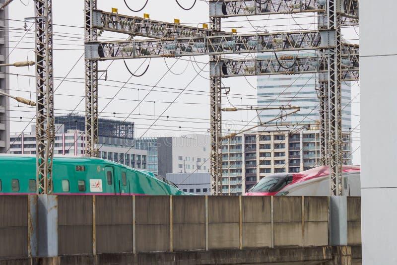 Kugelzug in Japan lizenzfreie stockfotografie