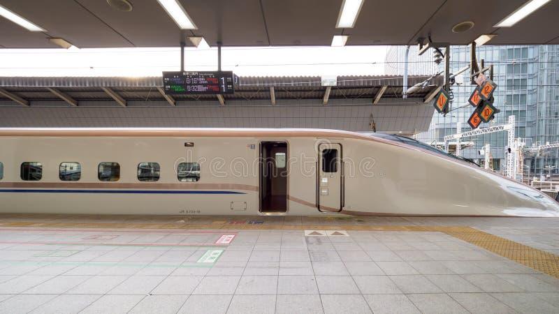 Kugelzug in Japan lizenzfreies stockfoto