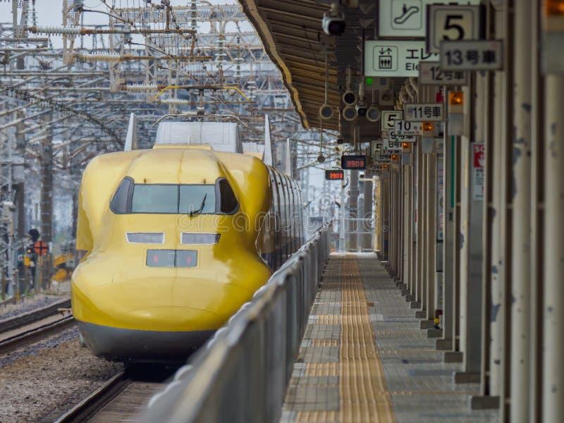 Kugelzug in Japan stockfotografie