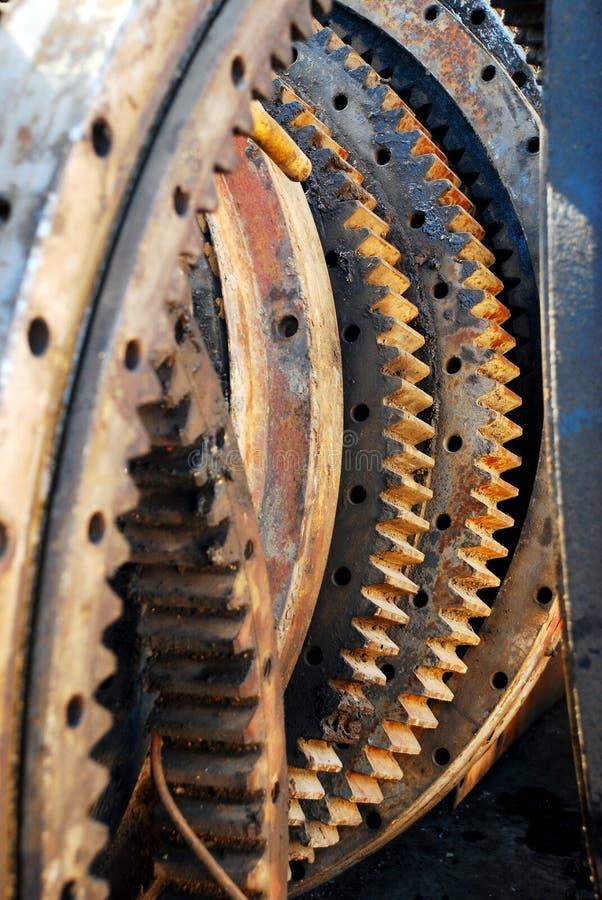 kugghjulhjul arkivfoton