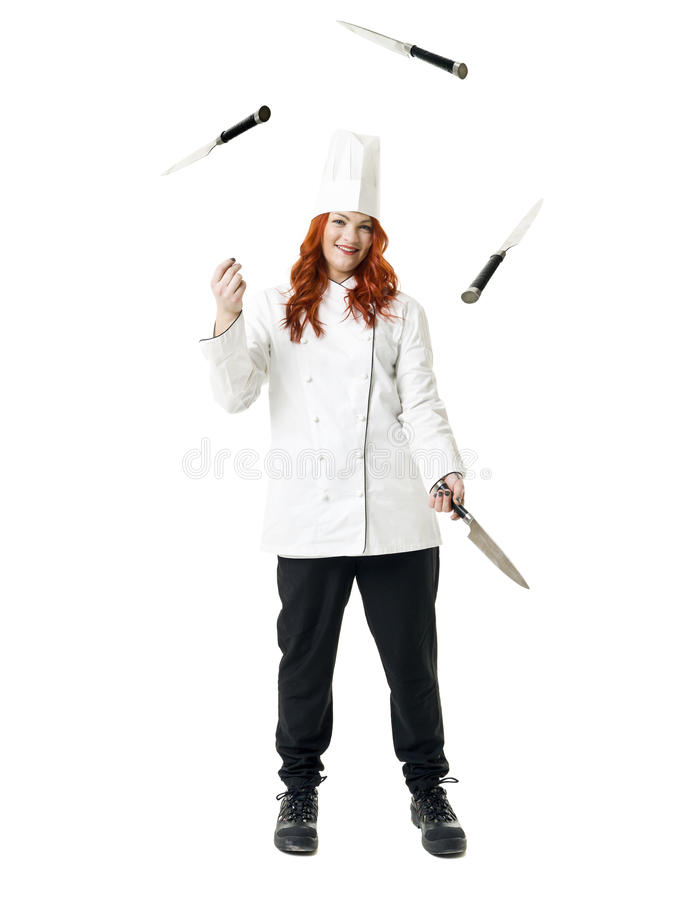 Kuglarski Szef kuchni obrazy stock