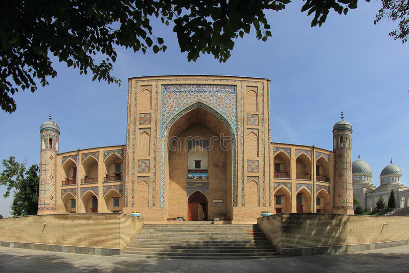 Kukeldash Madrasah en la ciudad de Tashkent, Uzbekistán foto de archivo libre de regalías