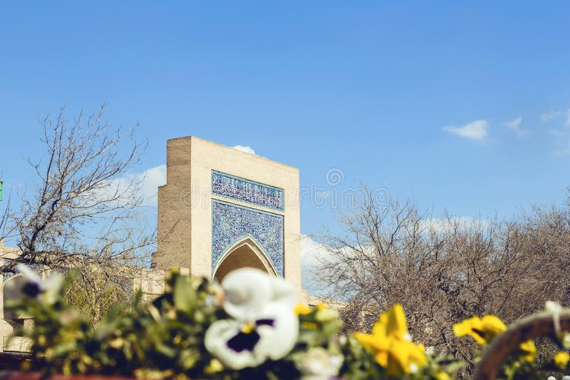 Kukeldash Madrasah w Bukhara zdjęcia stock