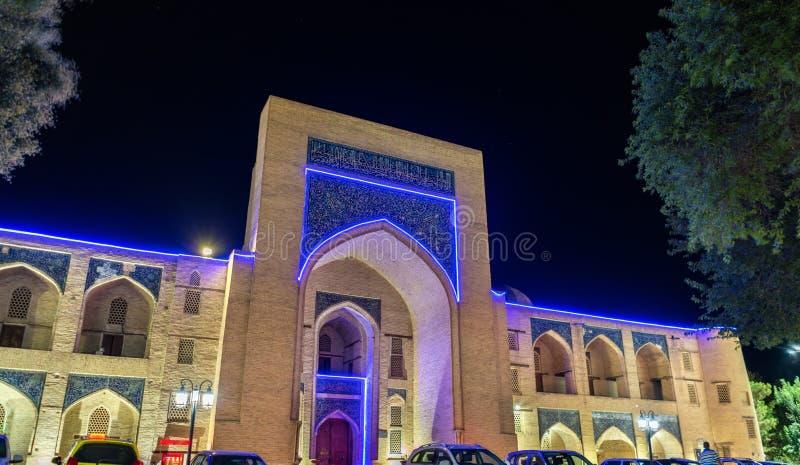 Kukeldash Madrasah w Bukhara, Uzbekistan zdjęcia royalty free