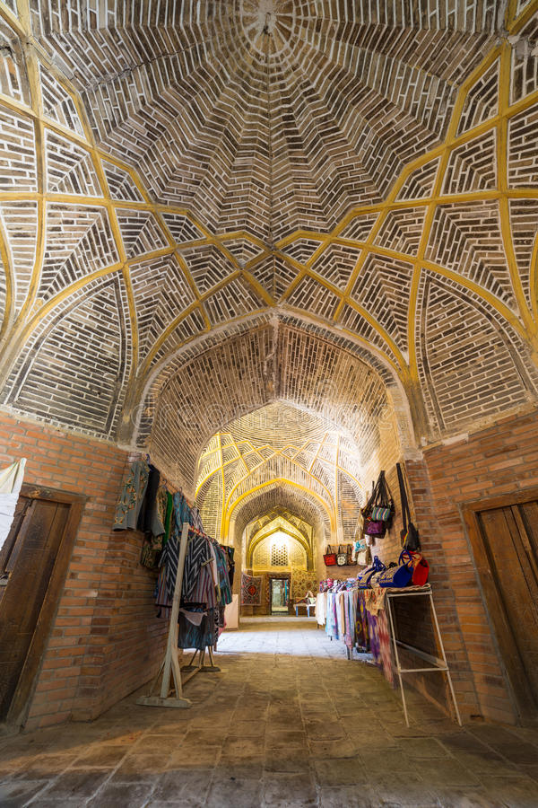Kukeldash Medressa de Bukhara, em Usbequistão fotos de stock