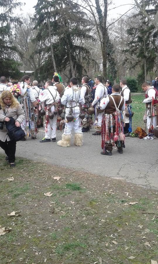 Kukerland búlgaro fotos de stock royalty free