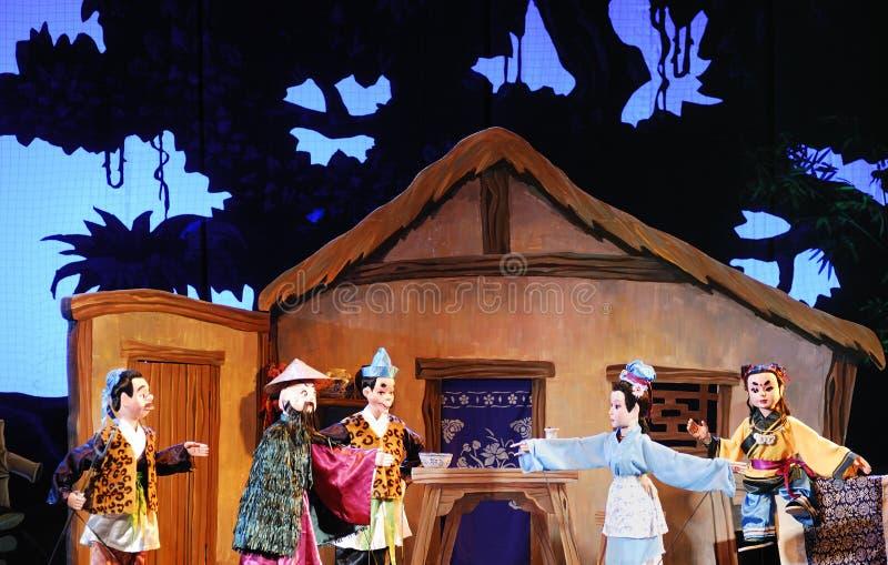 kukiełkowy theatre zdjęcie royalty free