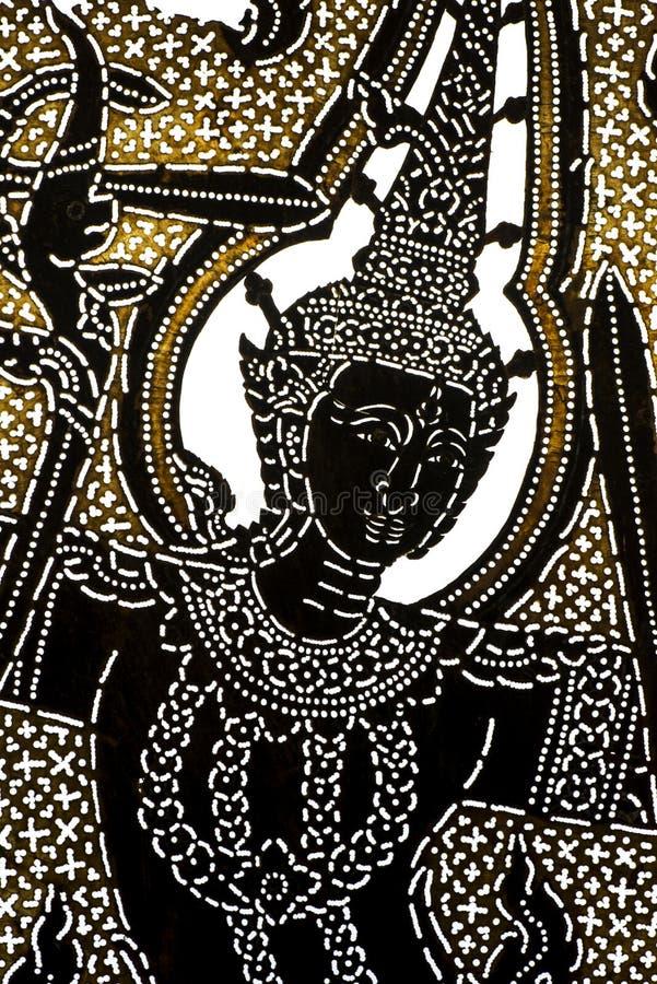 kukie?kowego cienia stylu tajlandzki tradycyjny fotografia royalty free