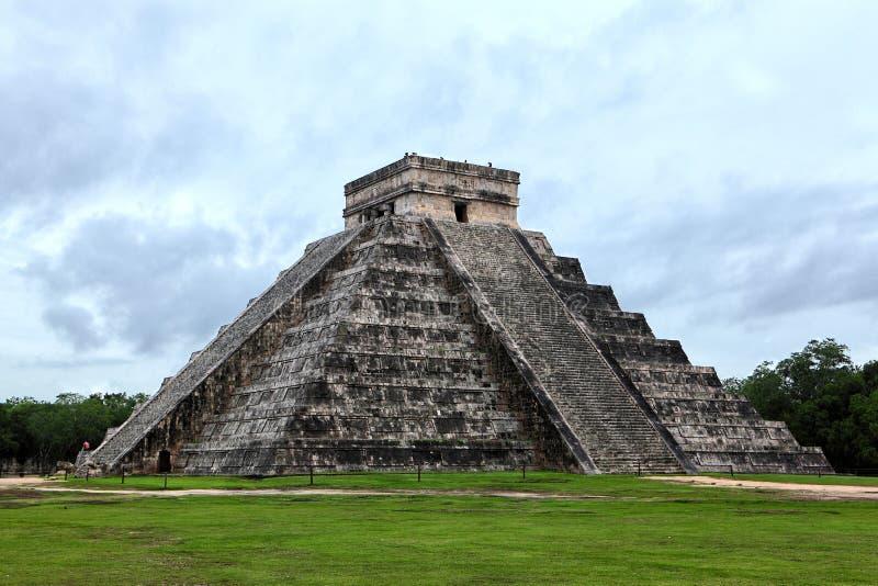 kukulcan玛雅金字塔 库存照片