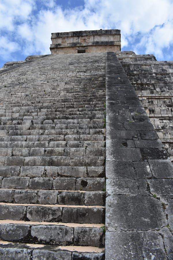 kukulkan πυραμίδα στοκ φωτογραφία