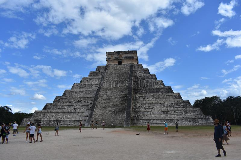 kukulkan πυραμίδα στοκ φωτογραφίες