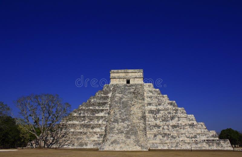 kukulkan πυραμίδα στοκ εικόνες