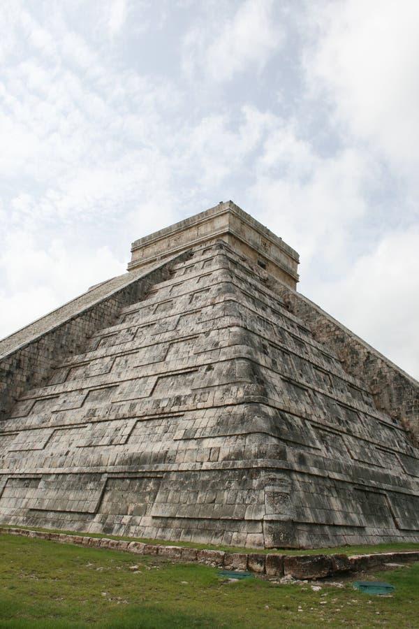 Kukulkan pyramid royalty free stock images