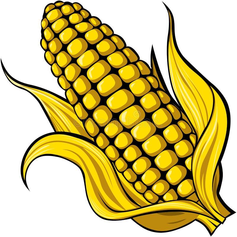 Kukurudza royalty ilustracja