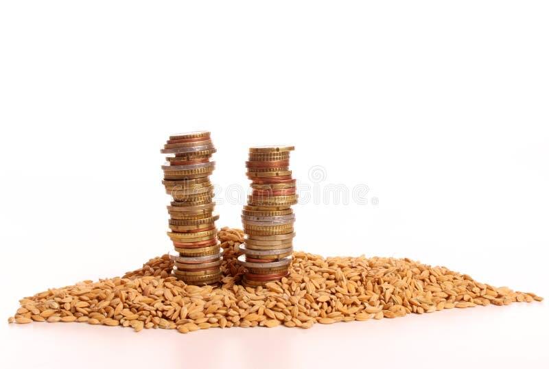 kukurudzy target1535_0_ pieniądze stos obraz royalty free