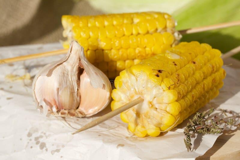 kukurydza z grilla zdjęcia royalty free