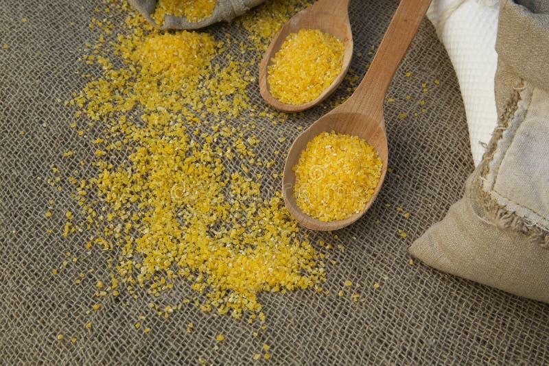 Kukurydzany zboże fotografia royalty free