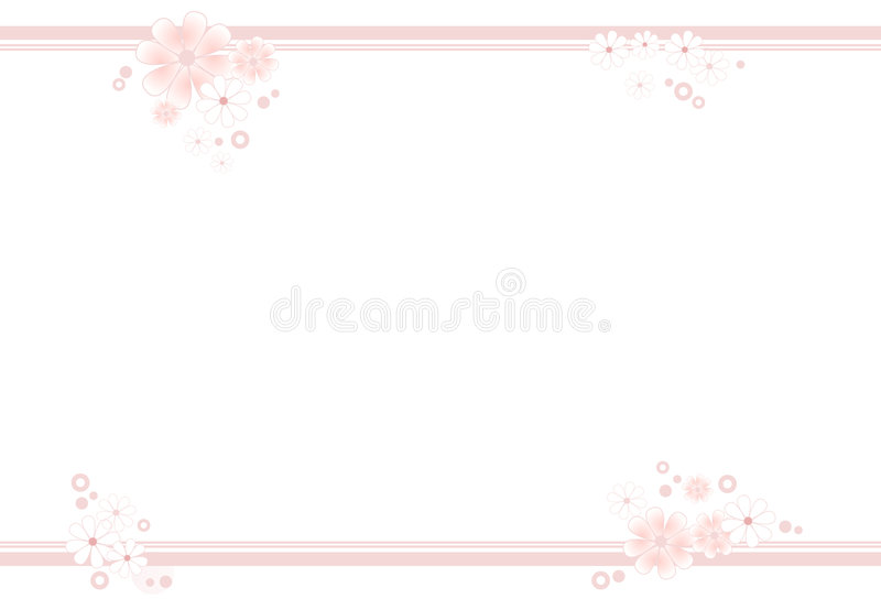 kulör blommarampastell vektor illustrationer
