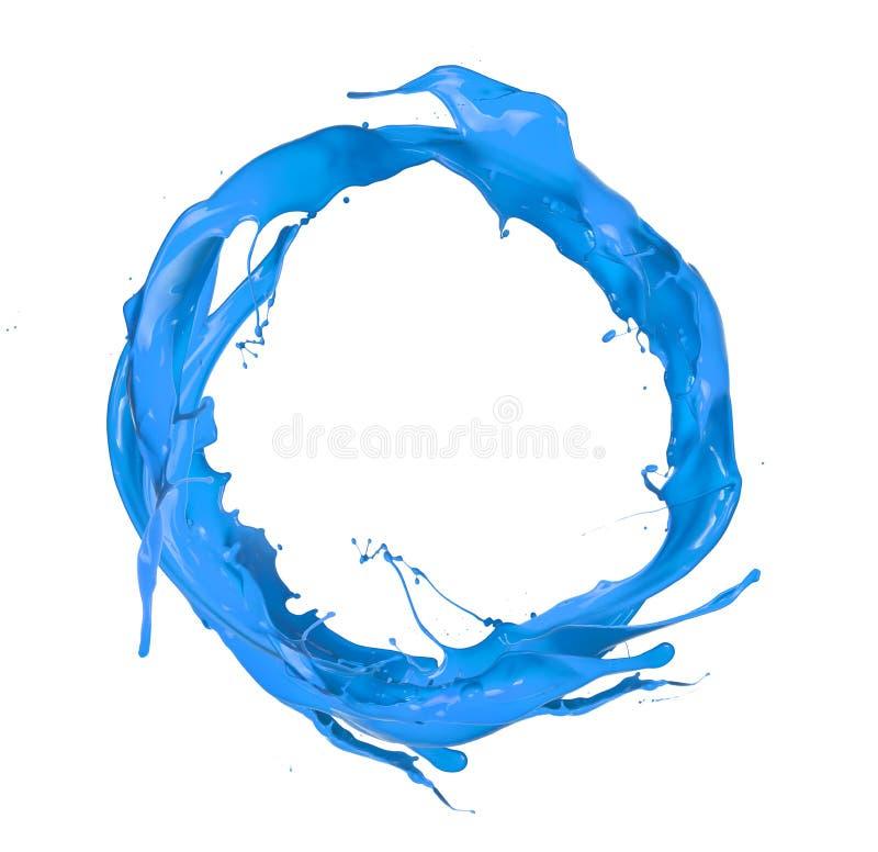 Kulör cirkel royaltyfria bilder