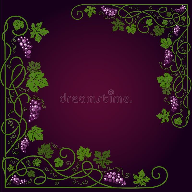 Kulör dekorativ ram vektor illustrationer