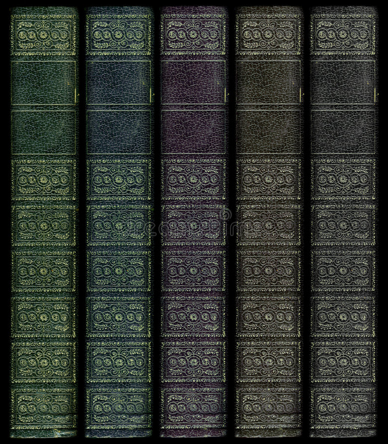 kulör mång- inbindningstappning för bok royaltyfri foto