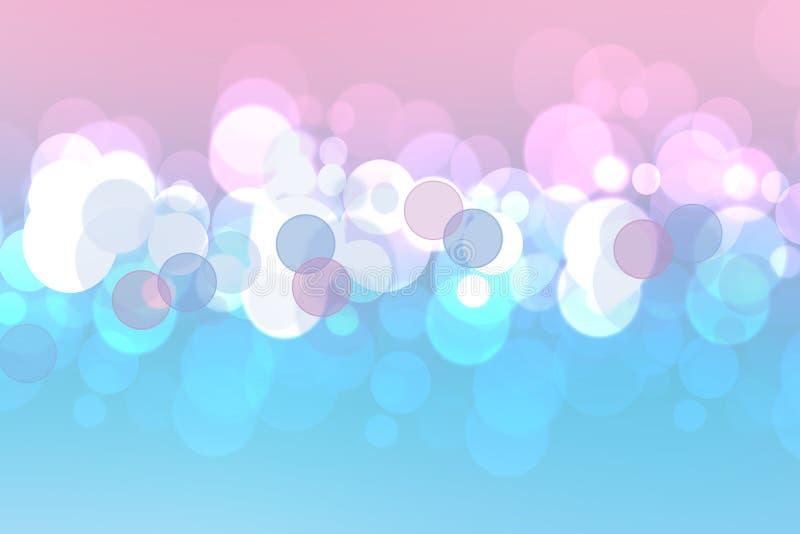 Kulör mjuk bakgrund för härlig färgrik abstrakt pastell Lutning från lilor som slösar Utrymme för text vektor illustrationer