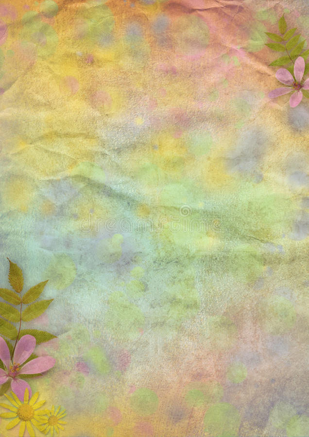 kulör paper pastell för abstrakt bakgrund stock illustrationer