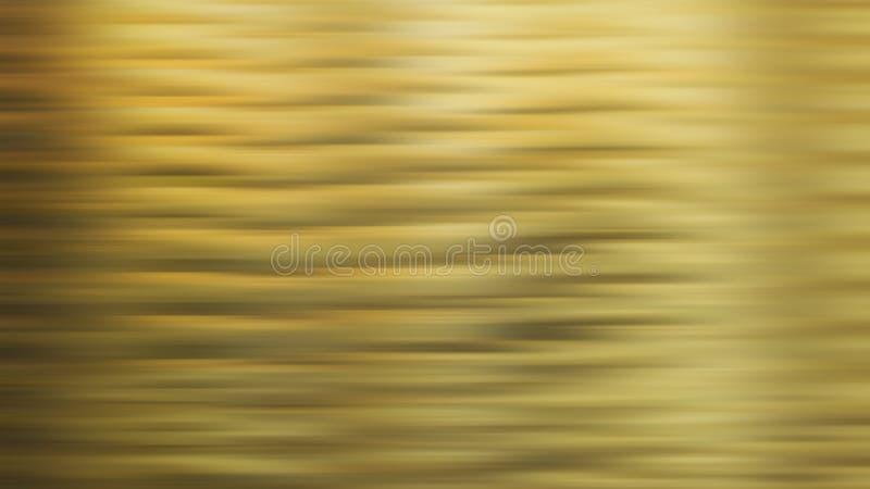 Kulör rörelsesuddighet för guld vektor illustrationer