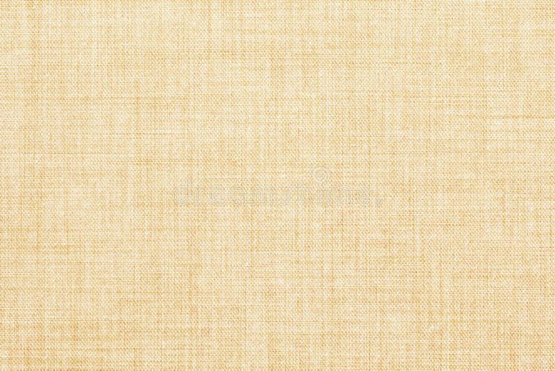 Kulör sömlös linnetextur för beiga eller tygkanfasbakgrund arkivbild
