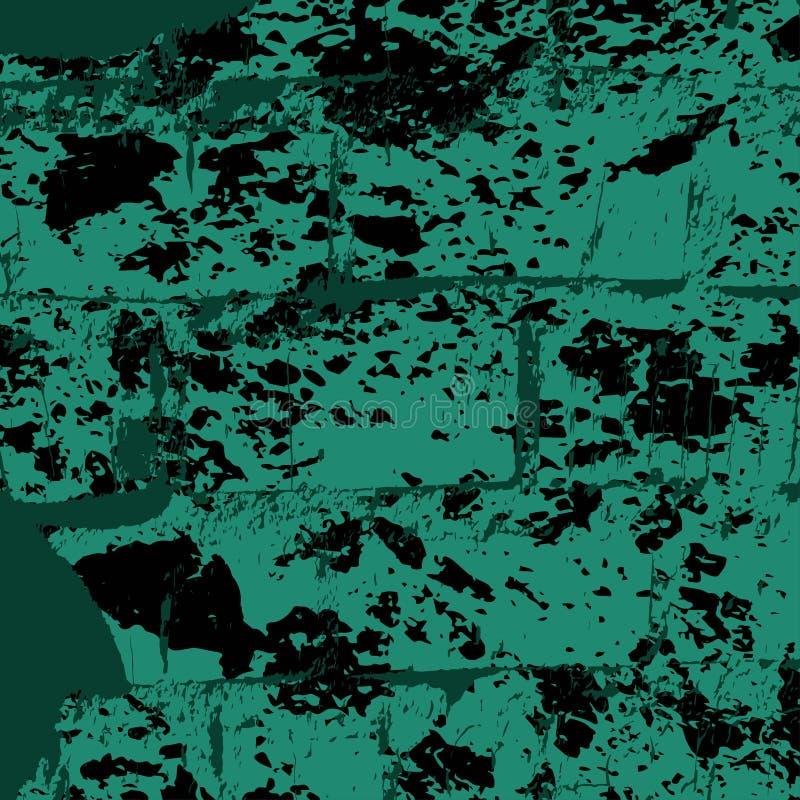 Kulör textur för grunge för tegelstenvägg vektor illustrationer