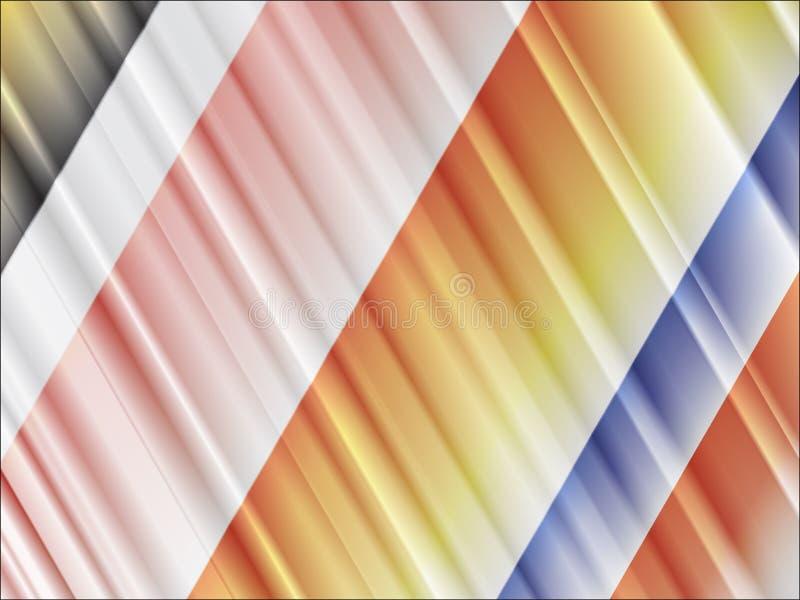 kulöra linjer stock illustrationer
