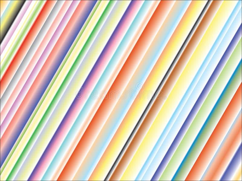 kulöra linjer för bakgrund vektor illustrationer