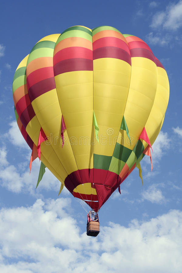 kulört varmt för luftballong ljust royaltyfria foton