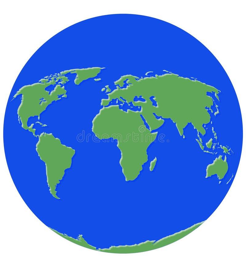 Download Kulę ilustracji. Ilustracja złożonej z błękitny, planeta - 137955