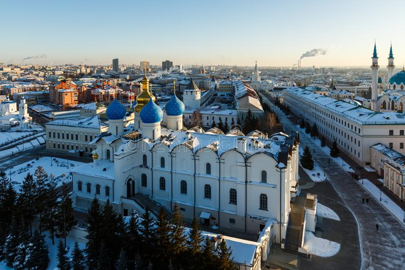 Kul meczet Sharif Kazan miasto, obrazy stock