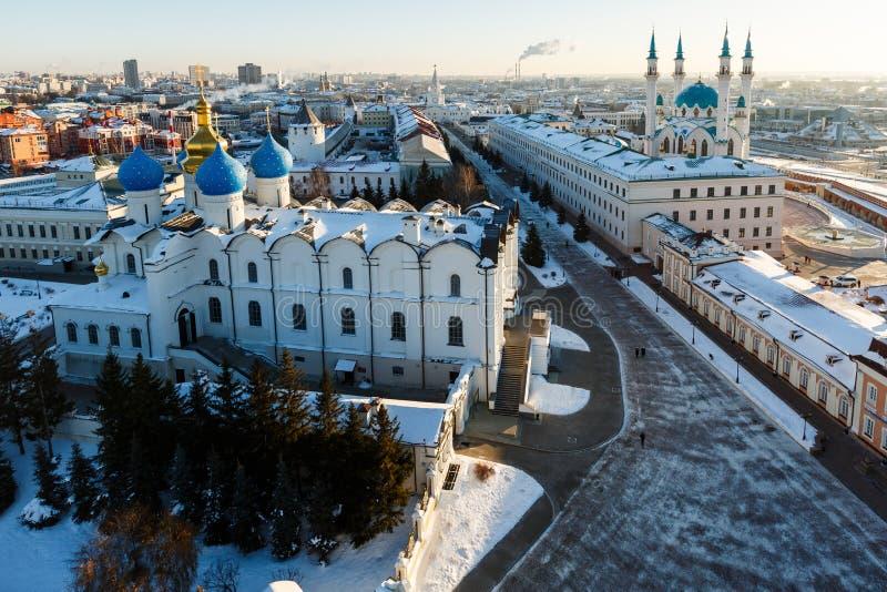 Kul meczet Sharif Kazan miasto, obrazy royalty free