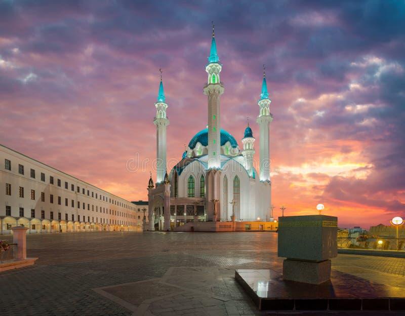 Kul meczet Sharif Kazan miasto, Rosja zdjęcie stock