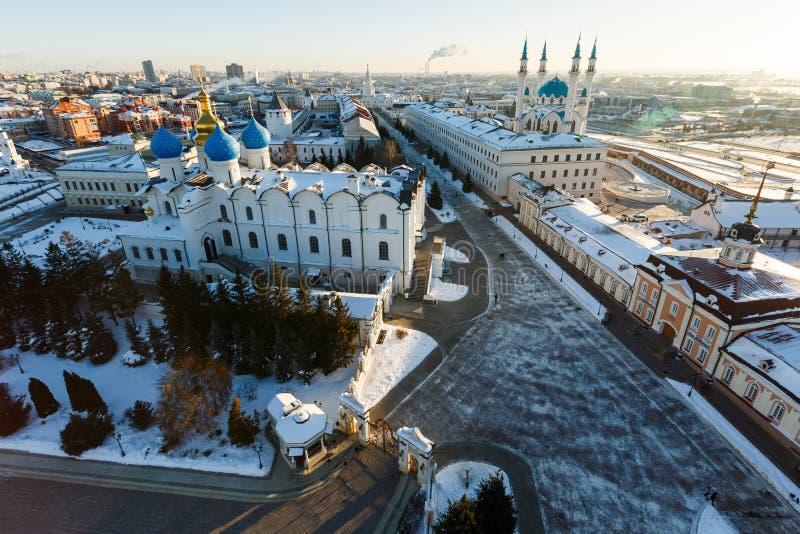 Kul Sharif清真寺 喀山市, 库存图片