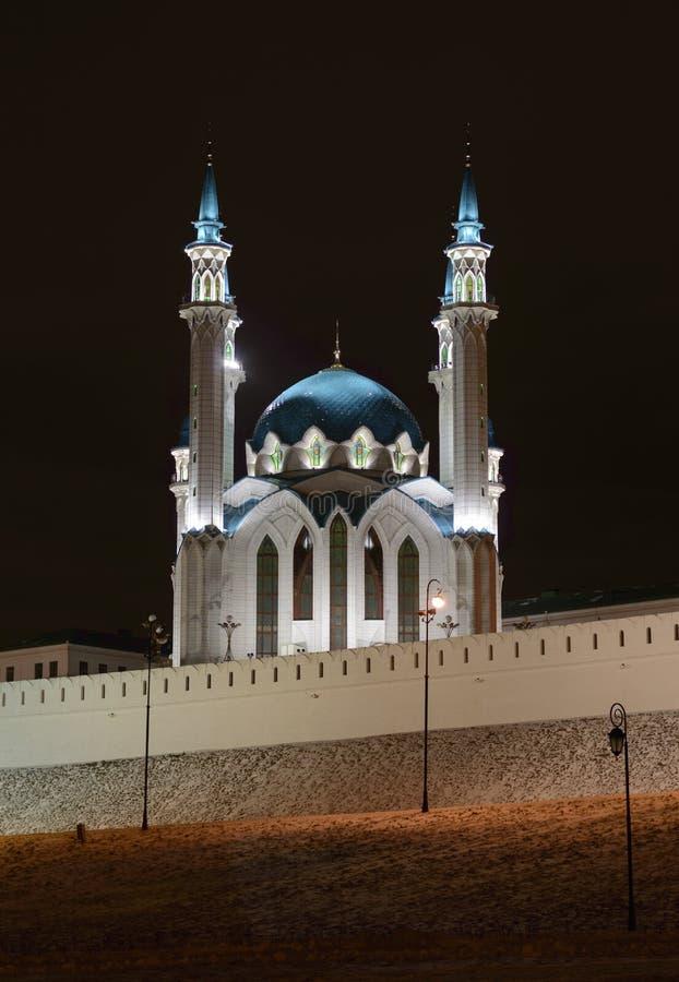 Kul-Sharif meczet, Kazan, Rosja zdjęcie stock