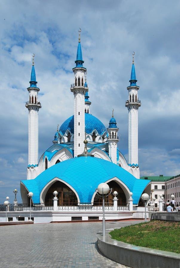 Kul Sharif mosque. Russia. City of Kazan. The Kul Sharif mosque royalty free stock image
