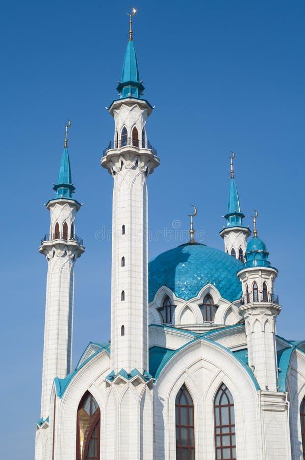 Kul Sharif Mosque en Kazán el Kremlin foto de archivo libre de regalías