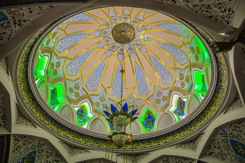 Kul Sharif Mosque en Kaz?n el Kremlin imagen de archivo