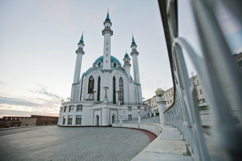 Kul Sharif Mosque in Kasan der Kreml, Tatarstan, Russland lizenzfreie stockbilder