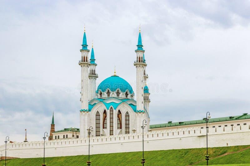 Kul sharif mosque. Kul-Sharif Mosque in Kazan Kremlin. Tatarstan. Russia royalty free stock photo