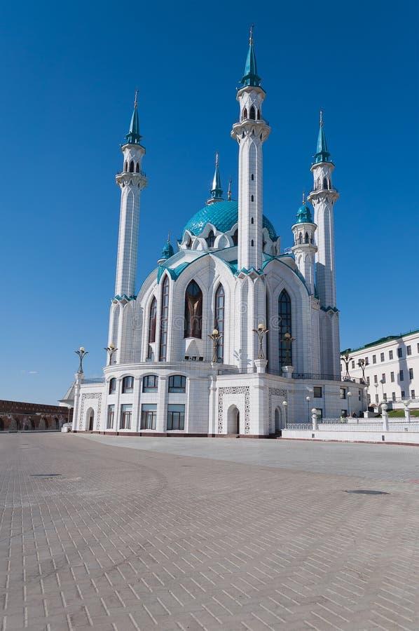 Kul Sharif mosque in Kremlin. Kazan. Russia. Kul Sharif mosque in Kazan Kremlin. Russia stock photo